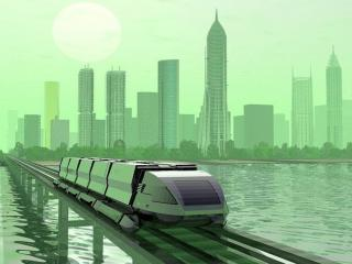 обои Город будущего фото