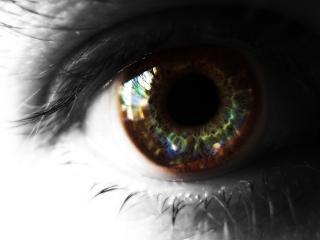 обои Бездонный глаз фото