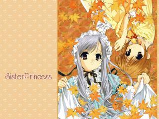 обои Сестры принцесы фото