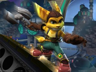 обои Ratchet and clank фото