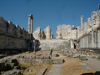обои для рабочего стола: Древние развалины многовекового города