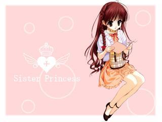 обои Karen pink sister princess tenhiro naoto фото