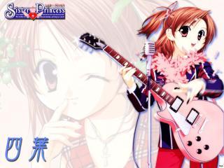 обои Наото играет на гитаре фото