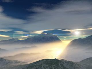 обои Холодный пейзаж фото