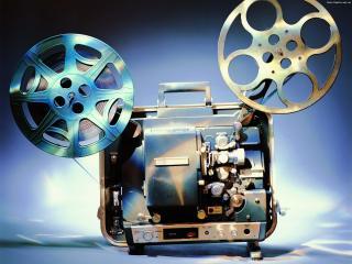 обои Старый кинопроектор фото