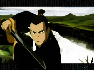 обои Sokka fighting stance фото