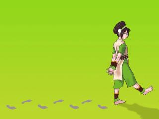 обои Toph earth bender фото