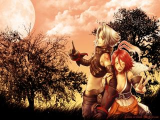 обои Alkaid and haseo фото