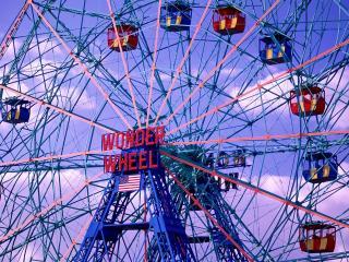 обои Колесо обозрения - WONDER WHEEL фото