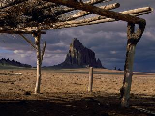 обои Shiprock,   New Mexico фото