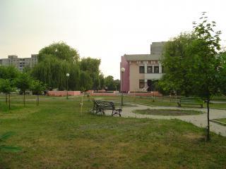 обои Лавка в парке фото