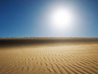 обои Бескрайняя пустыня фото