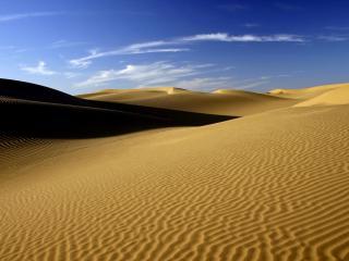 обои Бескрайние пески фото