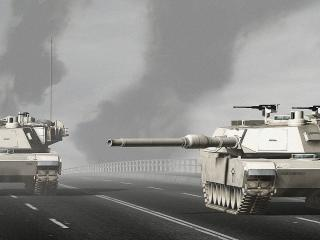 обои Два американских танка фото