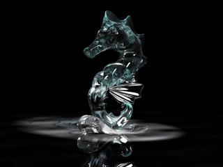 обои Стеклянный дракон фото