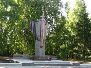 обои Памятник героям фото