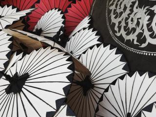 обои Handmade Decorative Umbrellas,   Bo Sang,   Near Chiang Mai,   Thailand фото