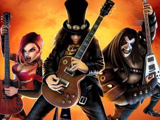 обои Guitar Hero III - Legends of Rock фото