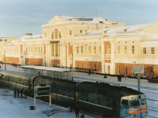 обои Красивый вокзал фото