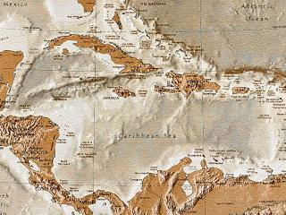 обои Древняя карта на папирусе фото