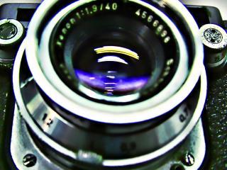 обои для рабочего стола: Обектив фотокамеры