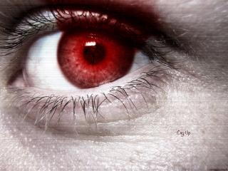 обои Кровавый глаз фото