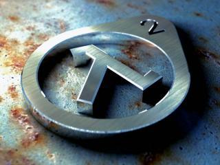 обои Стальная эмблема Half Life фото