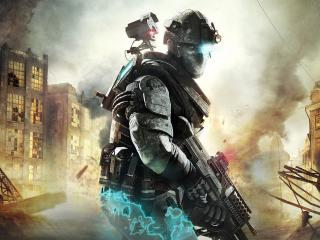 обои Games Tom Clancy s  Ghost Recon Advanced Warfighter фото