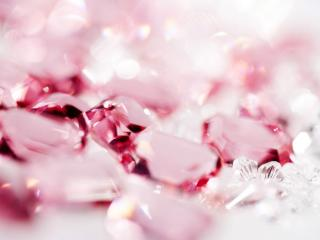 обои Красивые розовые стразы фото