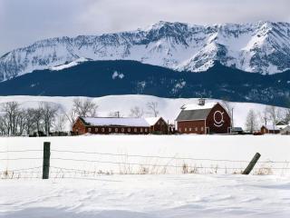 обои Ranch Near Wallowa-Whitman National Forest,   Oregon фото