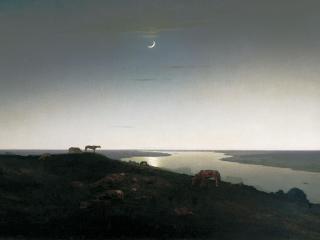 обои Ночное. 1905-1908, холст, масло, 107х169 см фото