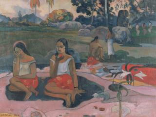 обои Gauguin, Paul - Sacred Spring, Sweet Dreams (Nave nave moe) фото