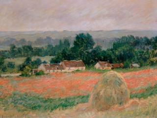 обои Haystack at Giverny фото