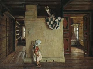 обои Анохин В старом доме Ракитиных фото