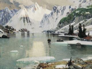 обои Озеро горных духов фото