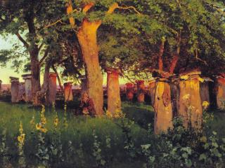 обои Пчельник. 1894 фото