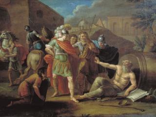 обои Александр Македонский перед Диогеном. 1787 фото