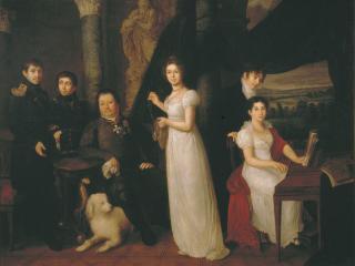 обои Семейный портрет графов Морковых. 1813 фото