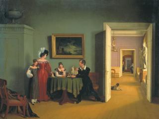 обои Семейный портрет. 1830 фото