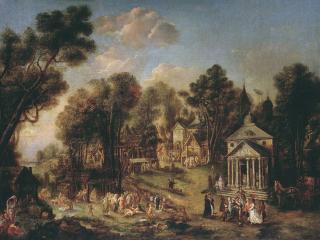 обои ИВАН ТАНКОВ. Храмовый праздник 1784 фото