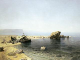 обои Прозрачная вода. 1879, холст, масло, 78х125 см фото