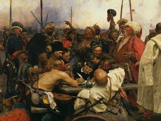 обои Запорожцы. 1880-1891 фото