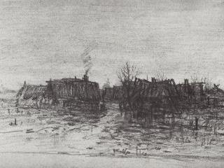 обои Куинджи. Забытая деревня. 1873 фото