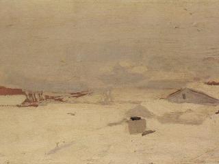 обои Куинджи. Зима. 1890-1895 фото