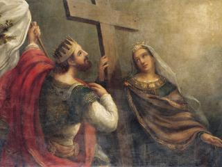 обои Святые Константин и Елена фото
