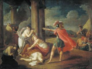 обои Смерть Камиллы, сестры Горация. 1787 фото