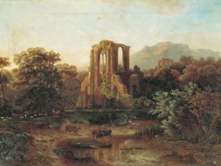 обои Итальянский пейзаж. 1800 фото