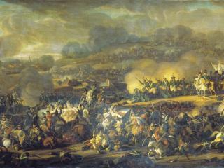 обои Сражение под Лейпцигом 6 октября 1813 года. 1815 фото