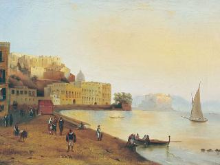 обои Неаполитанский вид. 1848 фото