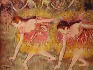 обои Танцовщицы на поклонах фото
